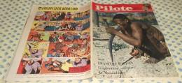 Pilote. N°66 (26/01/1961) Complet. Avec François Balsan L'explorateur Solitaire Du Mozambique - Pilote