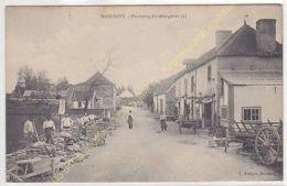 CPA 71110 MARCIGNY Faubourg Des Abergeries Avec Travaux Edit FRANçOIS Ca1907 - Unclassified
