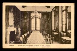 ALLEMAGNE - AACHEN - INNERES DES KERSTEN'SCHEN PAVILLONS AUF DEM LOUSBERG - Aachen
