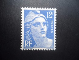Année 1948 N°812 Neuf ** MNH Marianne De Gandon 12F Outremer