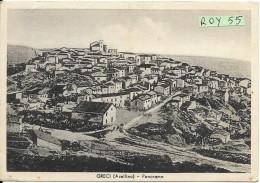 Campania-avellino-greci Veduta Panorama Greci Anni 40/50 - Italia