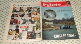 Pilote. N°76 (06/04/1961) Complet. Jo Schlesser Prince Du Volant - Pilote