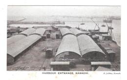 Pakistan Oyster Rocks And Harbour Karachi Pakistan Postcard - Pakistan