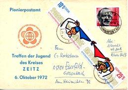 RDA. N°1276A De 1970 Sur Enveloppe Commémorative Ayant Circulé. Jeunes Pionniers. - Scouting