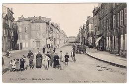NIORT  Rue De La Gare - Niort