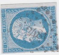 N° 14 A   /  PC   2481    POITIERS    /  VIENNE    LOT 14112   VARIETE - 1853-1860 Napoleon III
