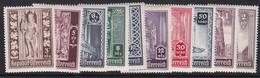 Austria 1946 Mi-Nr. 791#800, Wiederaufbau Wr. Stephansdom, 10 Werte, Postfrisch, Siehe Scan
