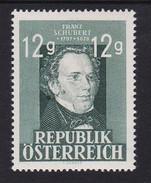 Austria 1947 Mi-Nr. 801, 150.Todestag Franz Schubert, Postfrisch, Siehe Scan