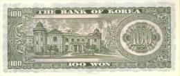 KOREA SOUTH P. 38 100 W 1965 UNC - Korea, South