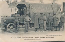 CPA 49 ANGERS Un Camion De Ravitaillement- Le Conflit Européen De 1914 - Angers