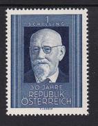 Austria 1948 Mi-Nr. 927, 30 Jahre Rep. Österreich, Karl Renner, Postfrisch, Siehe Scan