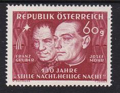 Austria 1948 Mi-Nr. 928, 120 Jahre Stille Nacht, Heilige Nacht, Postfrisch, Siehe Scan