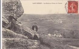 CARTE POSTALE   SAINT DESERT 71  Les Roches Et Côteau De Cercaut - Autres Communes