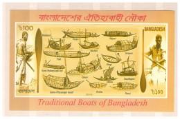BANGLADESH 2015 BOATS SS MNH - Bangladesh