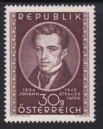 Austria 1949 Mi-Nr. 942, 100.Todestag Johann Strauss Vater, Postfrisch, Siehe Scan - 1945-60 Unused Stamps