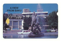 Azerbaigian - Tessera Telefonica Da 300 Units T140