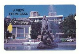 Azerbaigian - Tessera Telefonica Da 300 Units T140, - Azerbaïjan