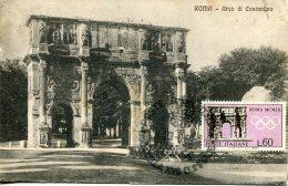 14800 Italia, Maximum 1959 Roma  Arch Of Constantin,  Architecture, Vintage Card - Cartoline Maximum