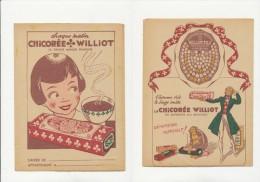 Publicité - Protege-Cahier - CHICOREE WILLIOT - Buvards, Protège-cahiers Illustrés