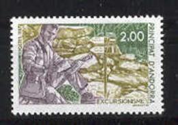 Andorra -Franc 1987 Turismo Activo Y=364 E=385 - Französisch Andorra