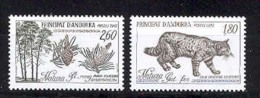 Andorra -Franc 1982 Naturaleza Y=306-07 E=327-28 (**)