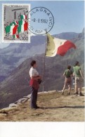 14804 Italia, Maximum 1992 Italian Flag,  Drapeau D'italie
