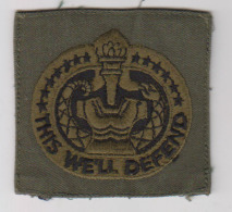 écusson This Well Defend - Patches