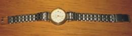 Bijou Montre Barclay Métal Argenté Diamètre 2.2 Cm  Bracelet 16 Cm Année 90 - Montres Modernes