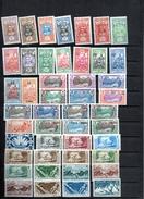 Timbres De L'OCEANIE  (ETABLISSEMENT  De L')   ,62 Timbres Neufs    Et  Avec Charnières, - Océanie (Établissement De L') (1892-1958)