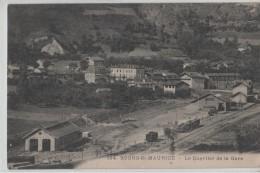 BOURG ST MAURICE.LE QUARTIER DE LA GARE..NC - Bourg Saint Maurice