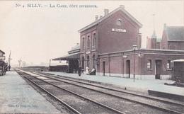 SILLY - La Gare, Côté Intérieur - Marco Marcovici -  N° 4  Edit:Le Progrès, Silly - Silly