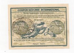 !!! COUPON REPONSE INTERNATIONAL D´ESPAGNE 30C CACHET DE SANTANDER