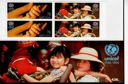 Portugal Markenheft 12 UNICEF MNH ** Postfrisch - Carnets
