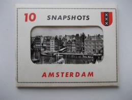 PAYS BAS - Amsterdam - Pochette De 10 Cartes Photos - - Amsterdam