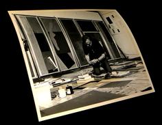 [PHOTO PHOTOGRAPHIE ORIGINALE] Robert Motherwell. - Arte