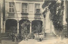 37-615  CPA  Original    CHINON  Institution Jeanne D 'arc   Belle Carte - Chinon