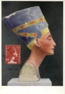 14805 Egypt, Maximum 1955  The Queen Nefertari, Nofretete, La Reine Nofertet - Aegyptologie