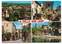 LA COLLE SUR LOUP. - Multivues (4 Vues). Pas Courante - France