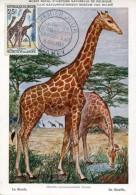 14810 Niger, Maximum 1969  Giraffe