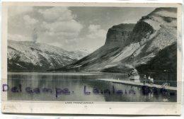 - LAKE MINNE WANKA LAC - (Alberta ), BOAT,  Petit Format, Glacée, Non écrite, BE, Scans. - Alberta