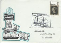 International Ship Stamp Exhibition  Wallasey Cheshire 1970   H-847
