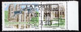 France 2016.Toul.Nouveau Cachet. Gomme D'origine - France
