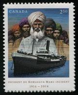 Canada (2014) - Set -  /  Barcos - Bateaux - Ships - Schiffe - Barche - Bateaux