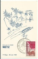 CARTE POSTALE __ Tour De France Cycliste 25 Juin 1959 Metz - Radsport