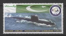 Pakistan (2013) - Set -  /  Navy Submarine Force - Military