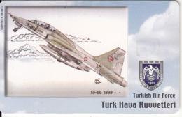 TURKEY(chip) - Airplane, NF-5B 1989(50 Units), Used - Avions