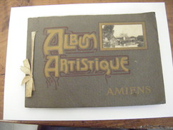 AMIENS ANCIEN ALBUM ARTISTIQUE 23 CM X 16 CM CONTENANT 12 CARTES POSTALES - Amiens