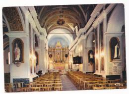 TOURRETTE-LEVENS. - Intérieur De L'Eglise. - Cliché RARE - France