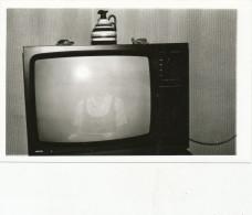 REAL PHOTO, Old TV ,  TELEVESIEUR, Old Photo ORIGINAL
