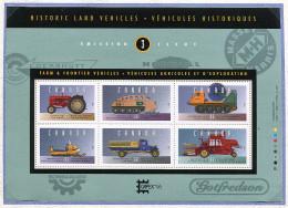 Canada ** Bloc N° 13 - Véhicules Historiques Pour L'agriculture Et L'exportation -